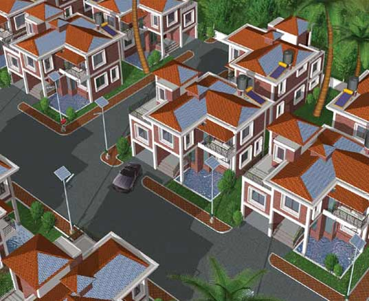 India S First Green Housing Project Completed Inhabitat