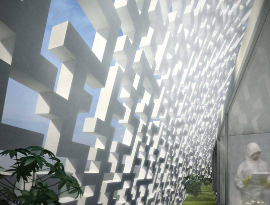 BioLab, Taiwan Center for Disease Control, Biomimicry, Studio Nicoletti, sustainable architecture, green building, green design, shell building