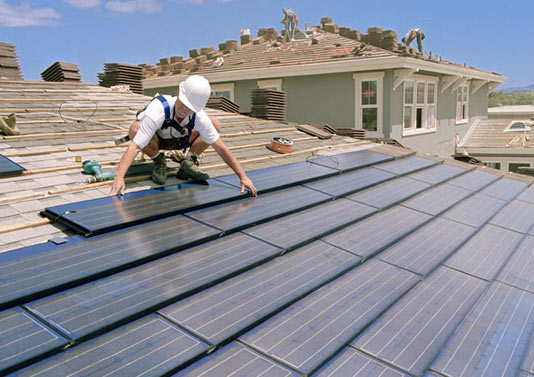 Solar Panel Roof Tiles Architecture