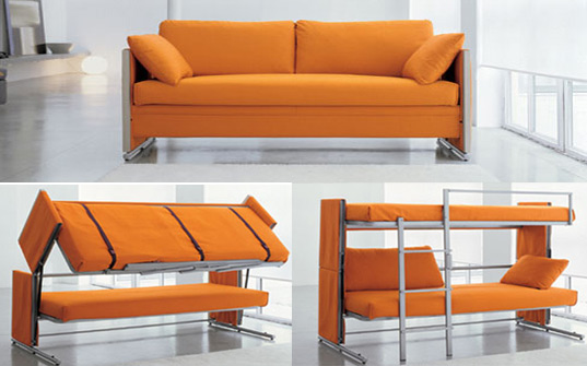Bonbon S Brilliant Doc Sofa Transforms Into A Bunk Bed In