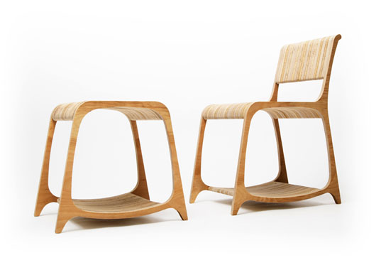Beautiful STRATA RECYCLED FURNITURE By Ryan Frank | Inhabitat   Green Design,  Innovation, Architecture, Green Building
