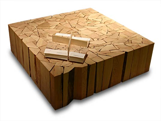 Brent Comber Shattered Furniture U2013 Made From Reclaimed Douglas Fir Wood