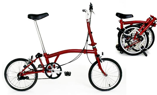 Brompton Fold-up Bike, Foldable Cycles, Sexy Cycles, Cutest Bicycles, Best Bicycles, Top 5 Sexiest Cycles, Sustainable Transportation, Transportation Tuesdays