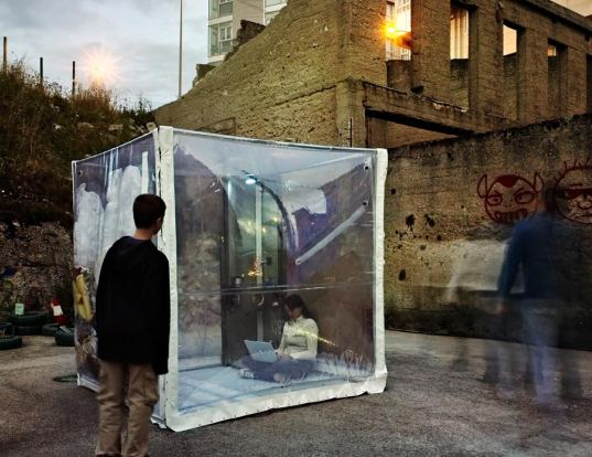 bubble house, mmas, cipriano chas, design for disaster, portable housing, folding house, disaster relief, emergency shelter