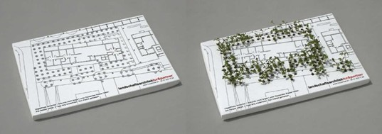 Landscaped business card by tur partners inhabitat green design colourmoves