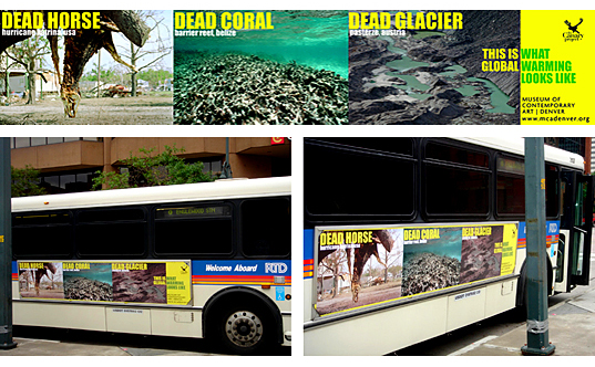 The Canary PROJECT (bus ad)