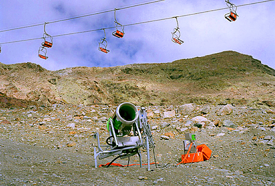 The Canary Project (glaciers/snowmaking)