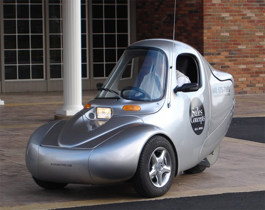Nmg No More Gas Myers Motors Well Tech Awards Milan 2008 Personal Electric Vehicle 75mph