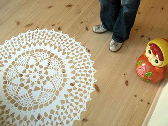 Crochet Floor Pattern, Crystallized Patterns, Home Project