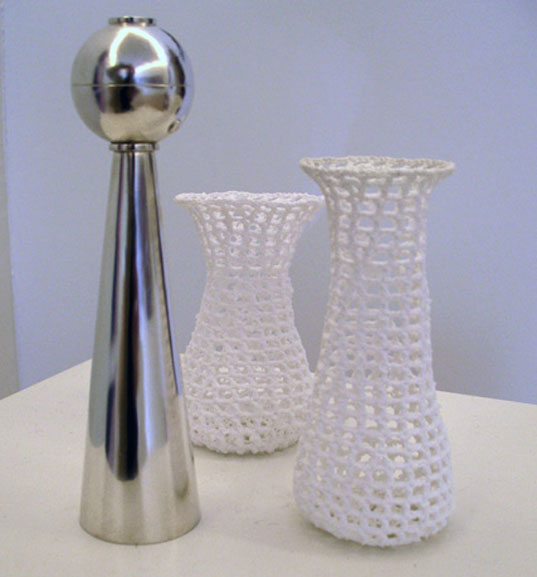 Crystalized Salt Shakers, Salt Shakers, Crochet Salt Shakers, Home Project