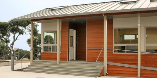 Chartwell School Unveils Sustainably-Built Prefab Classrooms