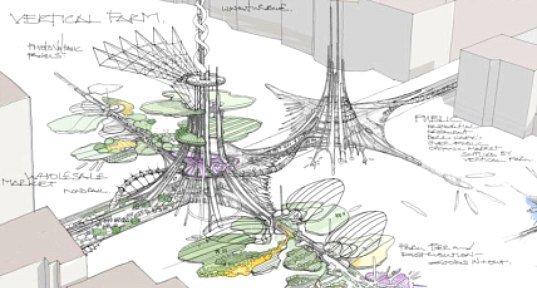 london bridge, design competition, london, vertical farm, organic market, hydroponic farm, pier, solar, wind, vertical axis wind turbine