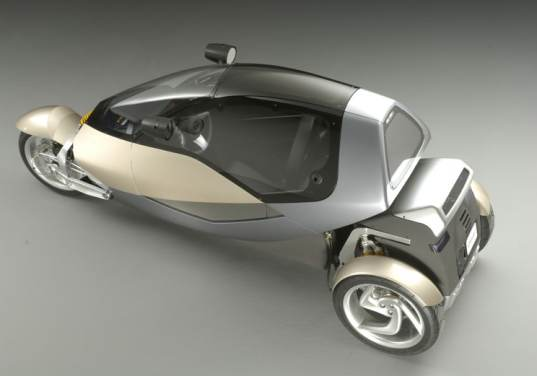 Clever Project, Clever Gas, BMV, tri-wheel, gas, Compressed gas vehicle, compressed gas concept vehicle, transportation tuesday, tilting vehicle, thin vehicle, small vehicle,
