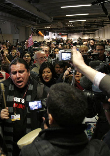 COP15 Update: Protesters Rally and 250 Arrested at Bella Center