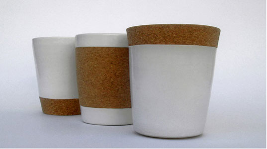 The Home Project Cork Cups