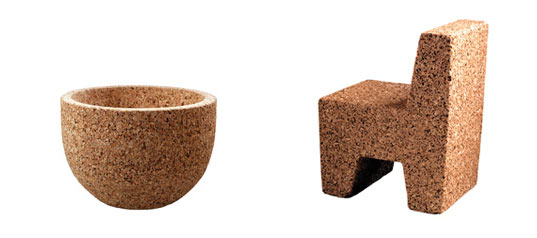 Attirant CLEVER CORK FURNITURE