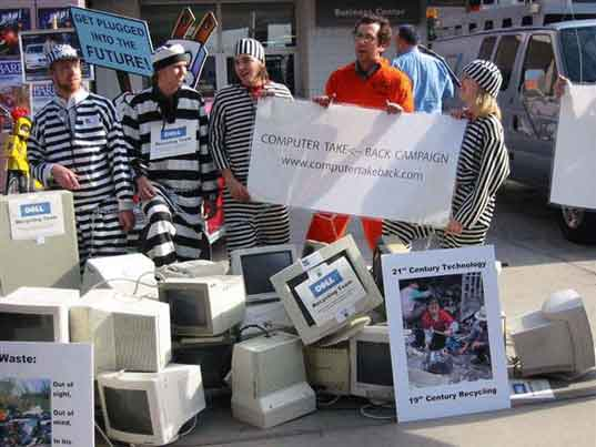 TAKEBACK MY TV: Think Before You Recycle, Basel Action Network, Chinese kids sitting on e-waste, E waste, Electronics waste, electronics landfill, toxic tech, electronic waste in china, Take back my TV, prison labor, ctbc.jpg