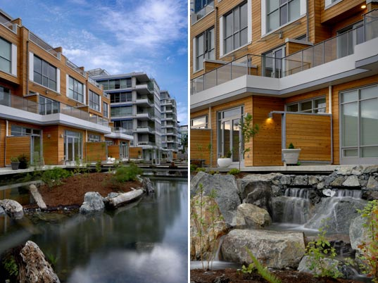 dockside green, vancity, busby perkins and will, windmill west, leed certification, usgbc, leed platinum community, sustainable architecture, green building, green community, vancouver, dockside synergy, dockside balance, carbon neutral community, energy efficient building