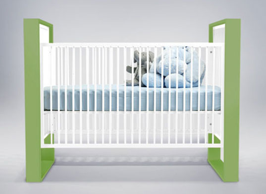 Image of: Green Baby Furniture To Design Ducduc Ecofriendly Austin Crib Inhabitat Green