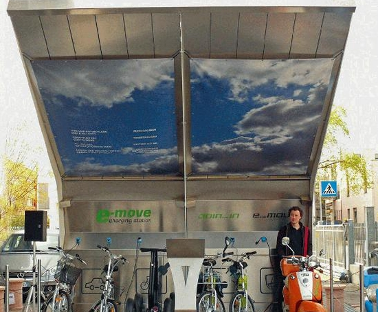 Solar Filling Stations: On-Demand Fuel for Electric Cars and Bikes