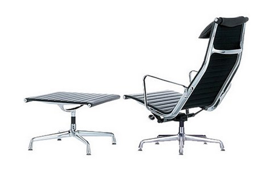 Eames Lounge Stoel.Herman Miller Environment Eames Executive Lounge Chair Cradle To