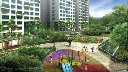 Treetops@Punggol, Singapore\'s First Eco-Friendly Housing Project ...