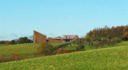 sustainable design, green design, sustainable architecture, green building, eco convent, green nuns, feilden clegg bradley studios