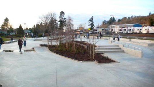 ed benedict skate park, portland green skate parks, sustainable design, urban development