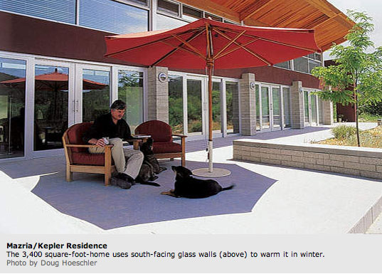 Ed Mazria, photographed by Doug Hoeschler for Metropolis, Doeg Hoeschler, Metropolis Magazine, Mazria/Kepler Residence, Architecture 2030, AIA, Sustainable Architecture, Green Architecture, Environmental Architecture, Eco-friendly architecture,