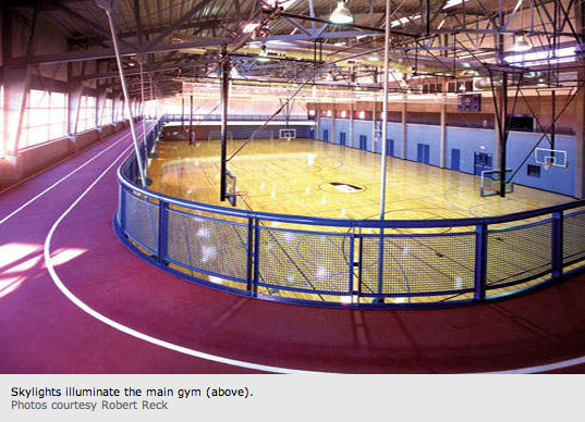 Ed Mazria, photographed by Robert Reck for Metropolis, Robert Reck, Eco-friendly gym, Green Gym Community Center, Sustainable Sports Center, Genoveva Chavez Community Center, Santa Fe, New Mexico, Metropolis Magazine, Architecture 2030, AIA, Sustainable Architecture, Green Architecture, Environmental Architecture, Eco-friendly architecture
