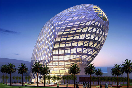 Architecture Buildings In India james law's high tech 'cybertecture egg' for mumbai | inhabitat