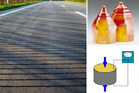 Researchers Roll Out Energy Generating Roads