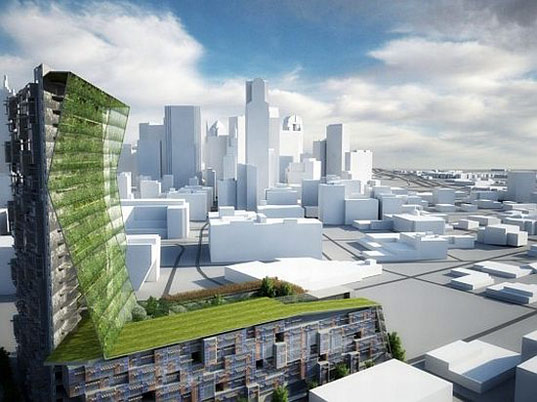 sustainable design, green design, urban revision, dallas, little diversified architectural consulting, re:vision dallas, entangled bank, mixed-use