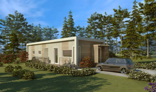 Prefab sustainable housing made from recycled shipping for Cost to build a house in florida