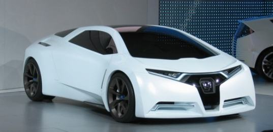 Honda Fc Sport Fcx Clarity Fuel Cell Vehicle Technology Cars