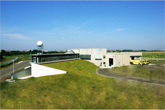sustainable design, green design, energy efficient architecture, green building, festi training center, greater toronto airport authority