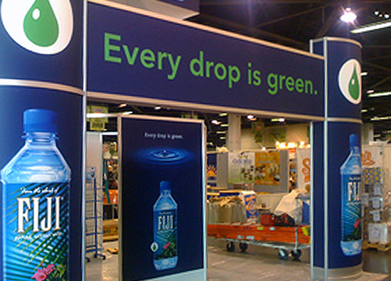 IS IT GREEN?: FIJI Bottled Water