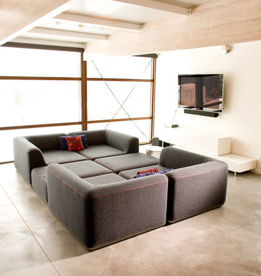 51 Modern Living Room Design From Talented Architects: PREFAB FRIDAY: Beautiful Flatpak House In Aspen