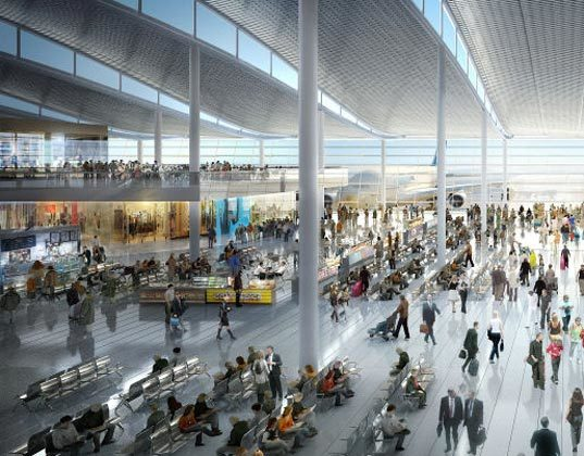 Foster Partners Unveil Energy Efficient Heathrow Airport