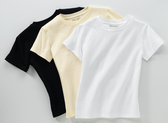 organic cotton tees t's gaiam eco fashion sustainable style