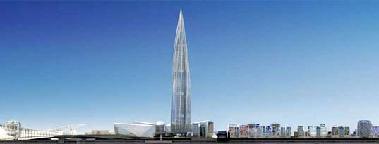 New Gazprom Tower To Be Europe's Tallest & Greenest?