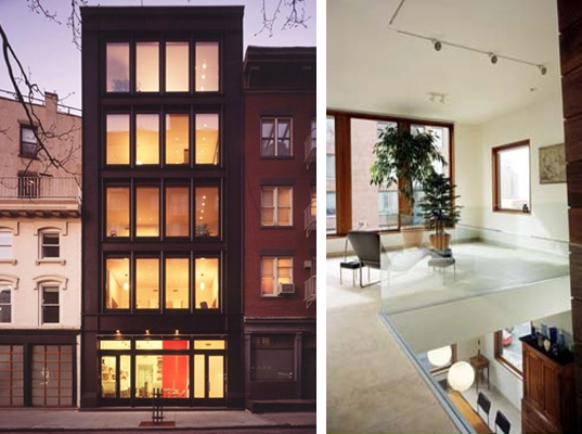 Geothermal Manhattan Townhouse