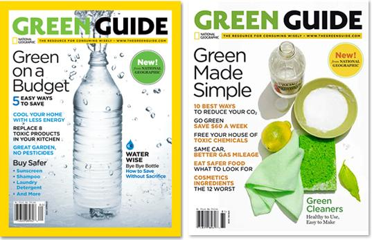 national geographic, national geographic green guide, green guide magazine, eco magazine