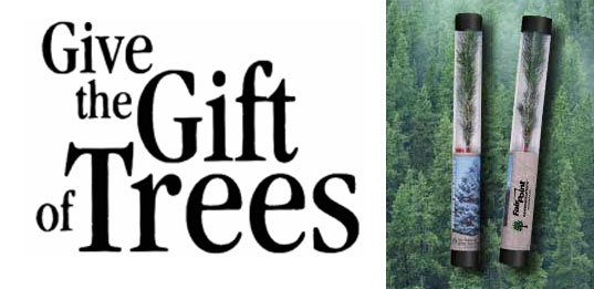 Green gift guide gifts that give back inhabitat green design arbor day give trees give flora gifts that give back tree gifts negle Choice Image