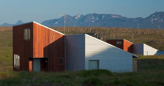 Icelandic Prefabricated Home To Remember Summer Days By