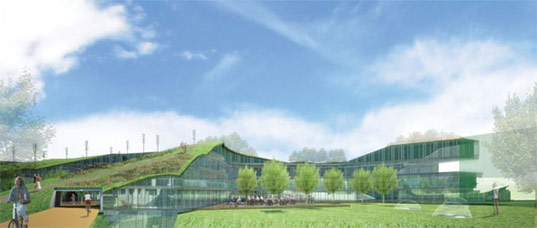 green office development, green office proposal, green office 2015, rau architects, rau architecture, multi-functional office, work space, green work space