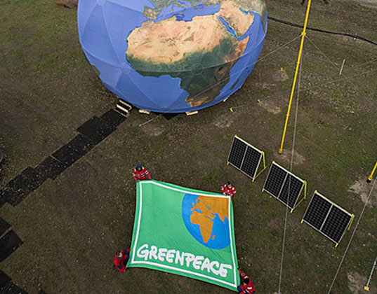greenpeace-climate-station, sustainable design, green design, copenhagen climate conference, cop15, denmark, eco art, environmental art