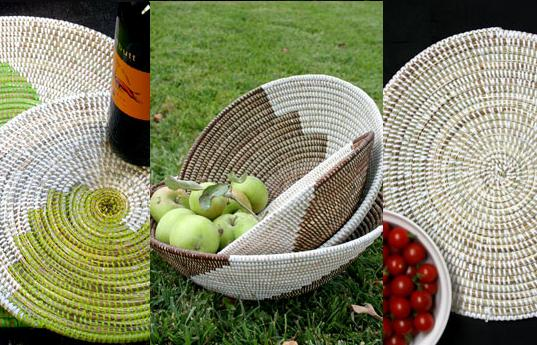 weave baskets, swahili imports, inhabitat green gift guide, green holiday gifts, gifts that give back, socially conscious design, sustainable design