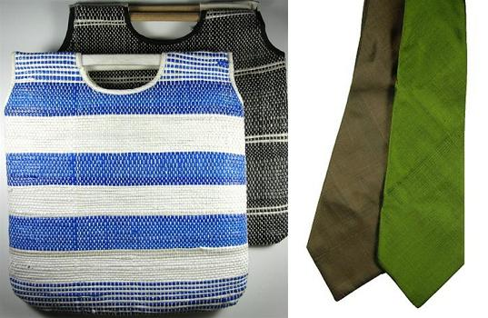 made by survivors, made by survivors eco tote, made by survivors silk tie, eco accessories, sustainable accessories