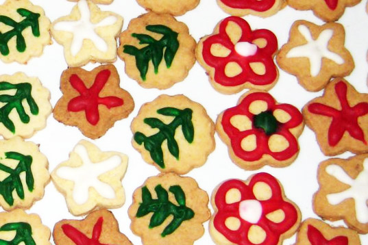 sustainable design, green design, happy holidays from inhabitat, inhabitat team, christmas 2009, holiday 2009, haily zaki cookies